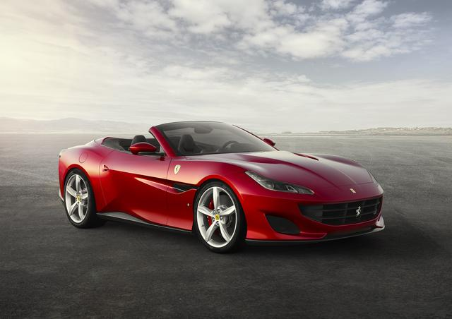 画像: フェラーリ ポルトフィーノ。カリフォルニアTの後継モデルだ。