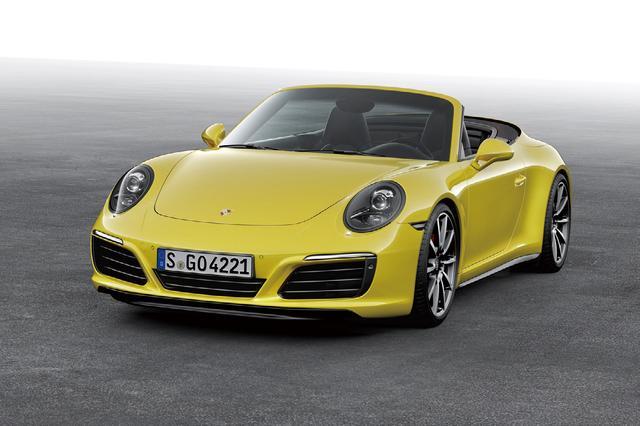 画像: ポルシェ 911 カレラ 4S カブリオレ。車両価格は1913万円なり。