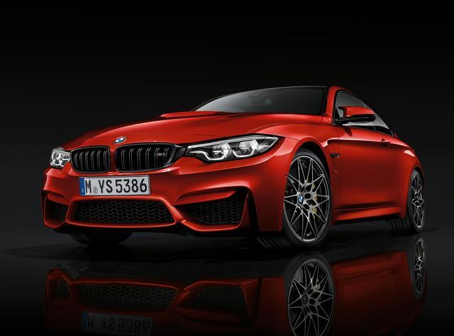 画像: BMW M4 コンペティション。新たにMT車が設定された。