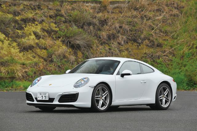 画像: ポルシェ 911 カレラ。スポーツカーとしての存在感はピカイチ。