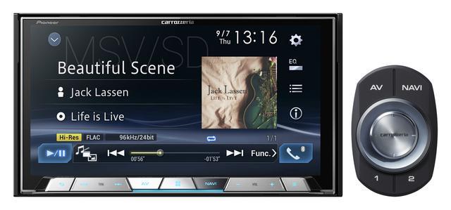 画像: 7 V型ワイドVGA地上デジタルTV/DVD-V/CD/Bluetooth/USB/SD/ チューナー・DSP AV一体型メモリーナビゲーション 「AVIC-CZ901」(価格:オープン。発売時期:9月)
