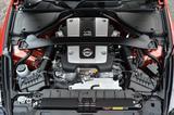 画像: 今となっては稀少な大排気量自然吸気のVQ37VHRエンジン。3.8ℓで336ps/365Nmを発生。