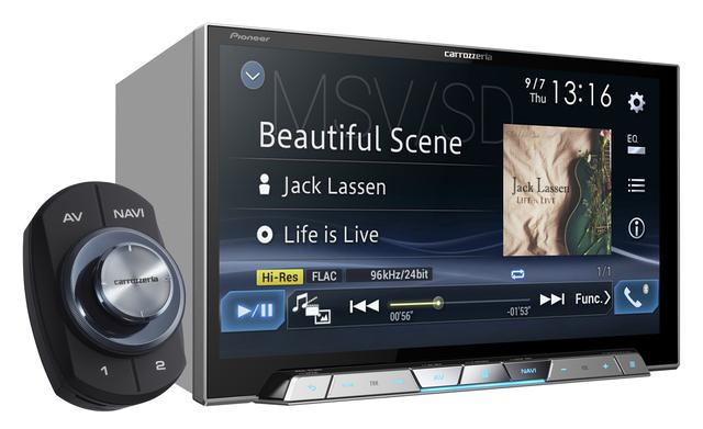 画像: 8 V型ワイドXGA地上デジタルTV/DVD-V/CD/Bluetooth/USB/SD/ チューナー・DSP AV一体型メモリーナビゲーション 「AVIC-CL901」(価格:オープン。発売時期:9月)