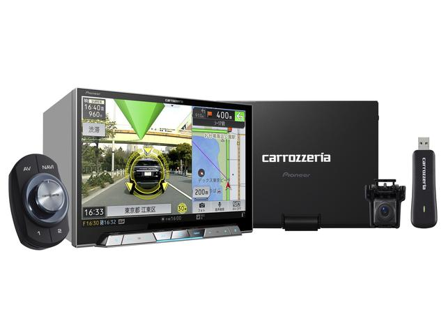 画像: 8 V型ワイドXGA地上デジタルTV/DVD-V/CD/Bluetooth/USB/SD/ チューナー・DSP AV一体型メモリーナビゲーション マルチドライブアシストユニットセット 「AVIC-CL901-M」(価格:オープン。発売時期:9月)