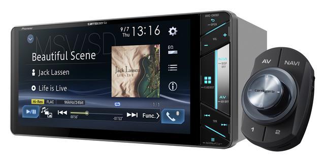 画像: 7 V型ワイドVGA地上デジタルTV/DVD-V/CD/Bluetooth/USB/SD/ チューナー・DSP AV一体型メモリーナビゲーション 「AVIC-CW901」(価格:オープン。発売時期:9月)