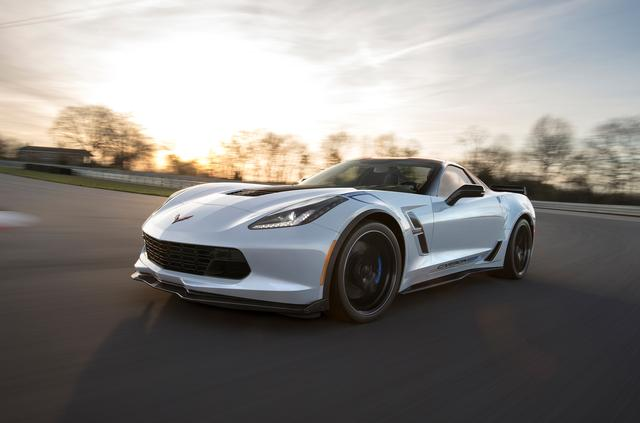画像: シボレー コルベット グランスポーツ カーボン 65 エディション。自然吸気エンジンを搭載する。