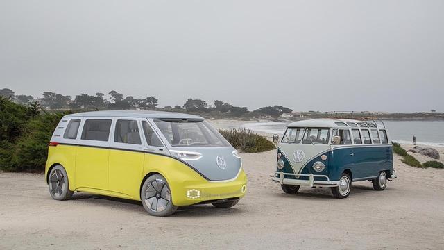 画像: Volkswagen I.D. BUZZ: The Concept Car in Pebble Beach www.youtube.com