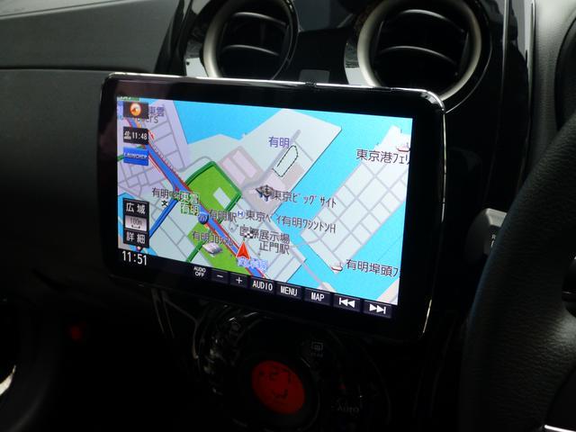 画像: 9V型大画面に角度調整可能な「DYNABIGスイングディスプレイ」を搭載したCN-F1XD。