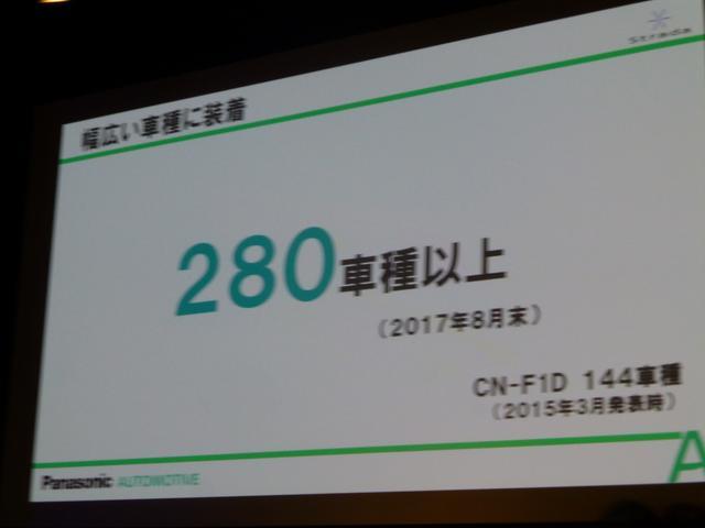 画像: 従来144車種の対応だったが、すでに280車種以上に対応する。