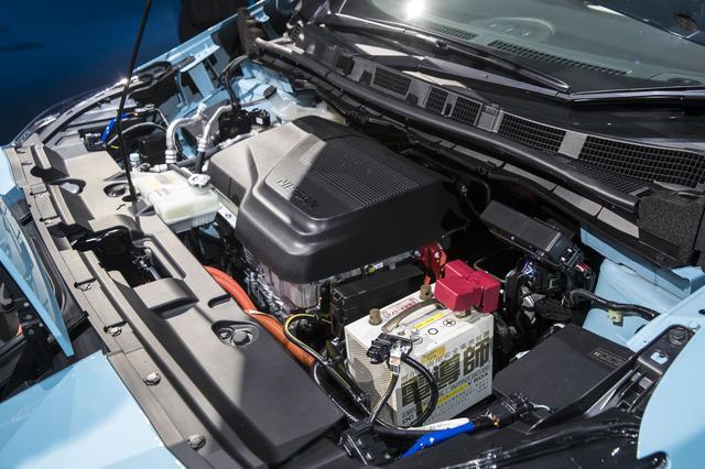 画像: EM57型モーターは従来通りだが、e-パワートレインにより、大きく動力性能を伸ばした。