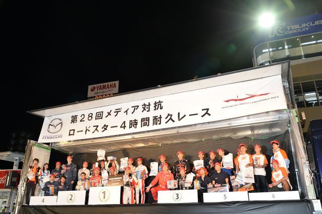 画像: 優勝はJ-WAVE、2位はティーポ・デイトナ、3位はエンジン、4位はSAMURAI WHEELS、5位はカービュー、6位はホリデーオートとなった。