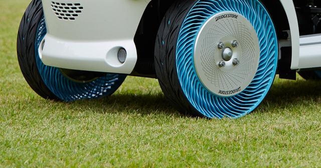 画像: 空気を不要にするブリヂストンのタイヤ技術 「エアフリーコンセプト」 | テクノロジー&イノベーション | 株式会社ブリヂストン