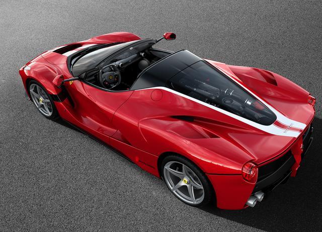 画像: La Ferrari Aperta(ラ・フェラーリ アペルタ)。