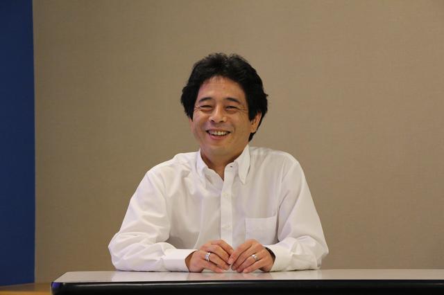画像: 研究開発本部本部長で取締役執行役員の東中一之さん。ミシュランにおける太田サイトの重要性を語った。