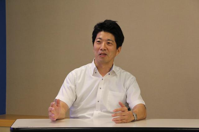 画像: 話を聞いた池田聡さん。