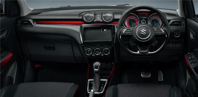 画像: 6速AT セーフティパッケージ・全方位モニター用カメラパッケージ装着車 インパネ。