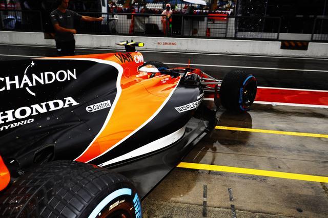 画像2: F1 第13戦 イタリアGPでのストフェル・バンドーン。