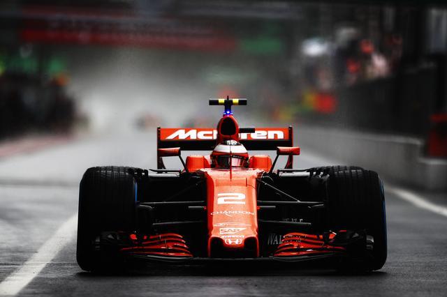 画像1: F1 第13戦 イタリアGPでのストフェル・バンドーン。