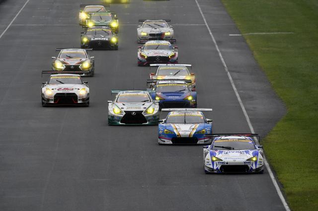 画像: JAF GT勢が先行し、GT3勢が追いかけるレース展開か