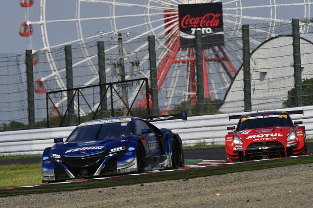 画像: 予選12番手から脅威のレース運び、2位まで上がる23号車GT-R