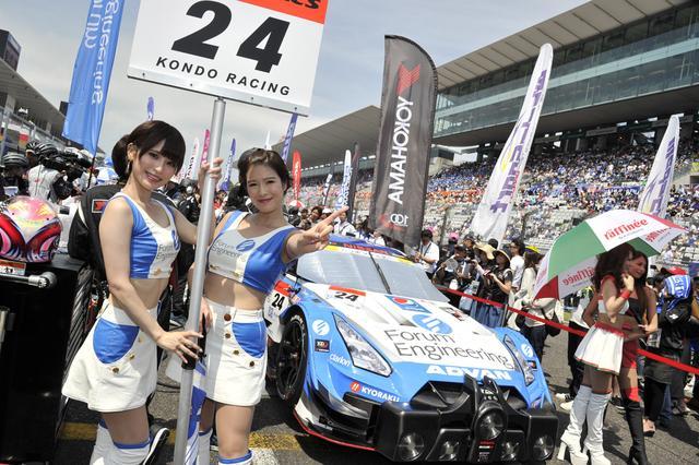 画像: ヨコハマタイヤを履く24号車GT-Rがポールポジション、GT-Rのポールは今年初
