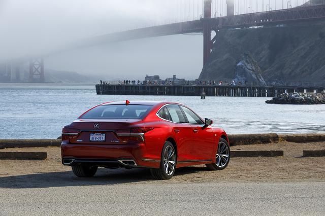 画像: アメリカ西海岸、サンフランシスコで行われている試乗会。