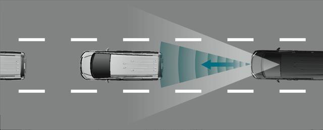 画像: 設定速度内での追従走行から停車まで対応。再発進時はスイッチかアクセル操作で追従走行を再開できる渋滞追従機能。