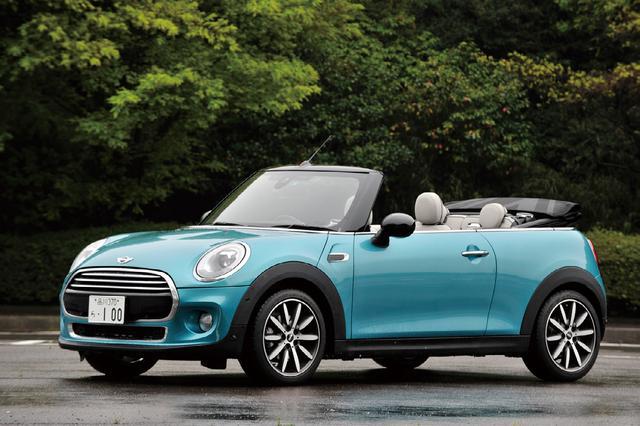 画像: MINIコンバーチブル クーパー。車両価格348万円、高価だがその価値は十分にある。