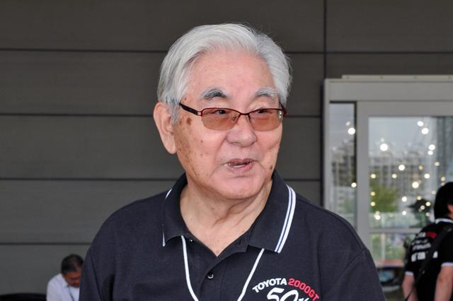 画像: スピード記録会に挑戦したドライバー、細谷四方洋氏もイベントに登場。