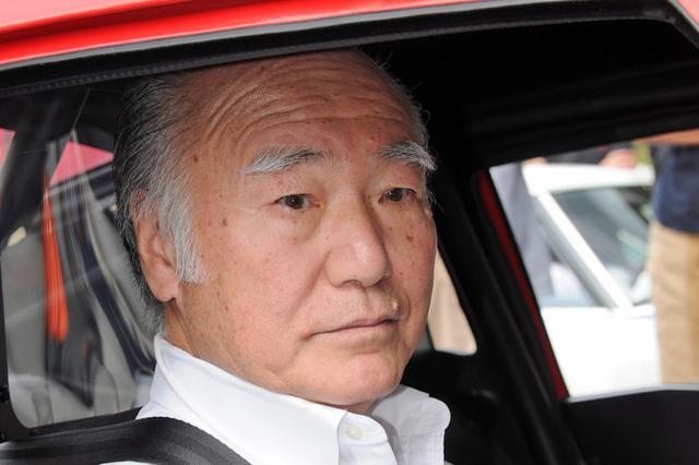 画像: スピード記録会に挑戦したドライバー、鮒子田寛氏もイベントに登場。