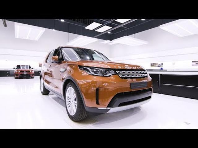 画像: Land Rover Discovery - Jamie Oliver's Bespoke Discovery youtu.be
