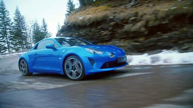 画像: 2017 New Alpine A110 reveal movie - YouTube youtu.be