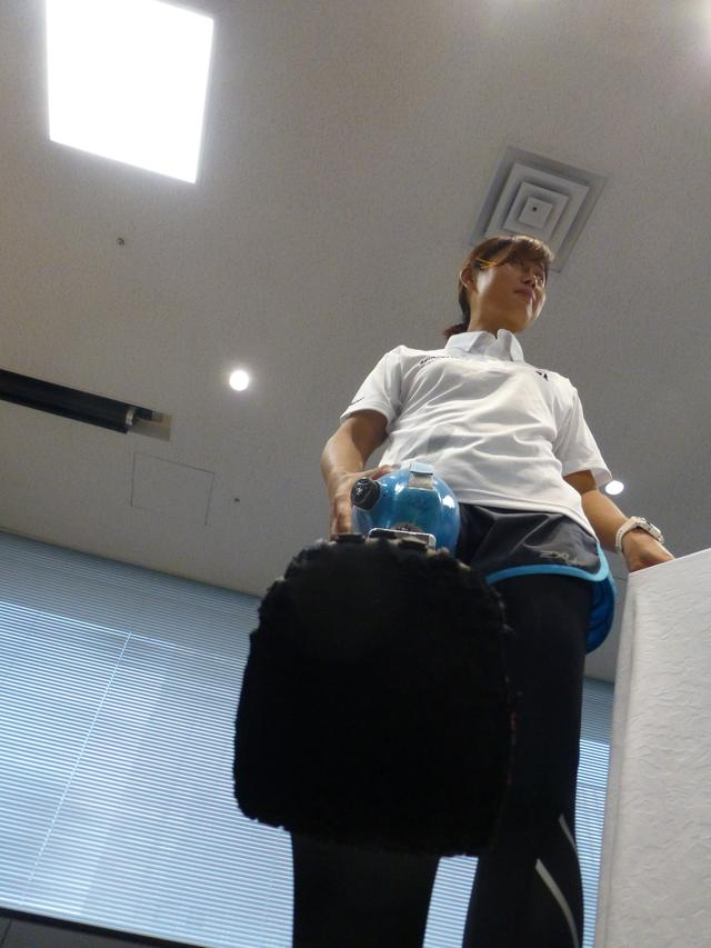 画像: これが秦選手のスポーツ義足用ゴムソール。