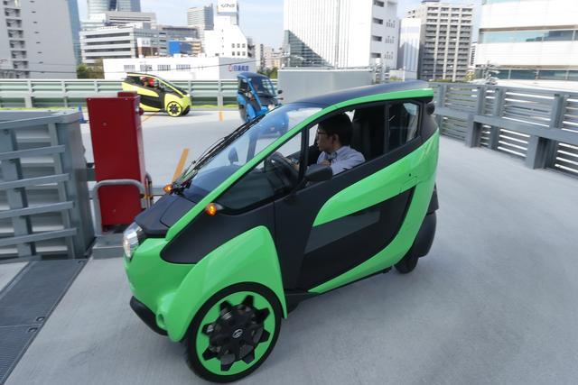 画像: i-ロードは満充電時に市街地で約30kmを走行することができる。