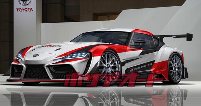 画像: 参戦カテゴリーは不明だが、FIA GT-3に準拠した8SPT(ターボ)や改造範囲の広いSP-Xで戦うと予想される。(CG)