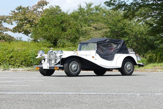 画像: 幌も標準で搭載する。ただしこの状態で走ると風でバタバタと相当うるさい。