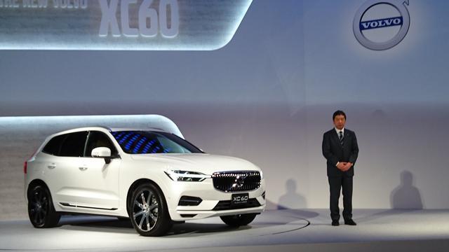 画像: XC60をアンベールしたボルボ・カー・ジャパンの木村社長。