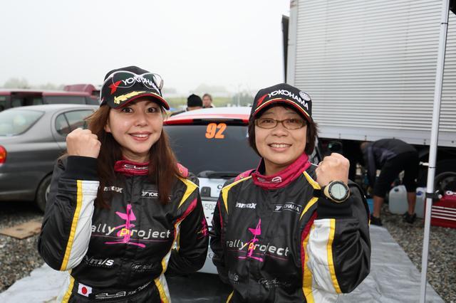 画像: コ・ドライバー歴約15年の佐竹尚子さん。ラリー北海道に出るのは久しぶりだったんだとか。「チャレンジした結 果だから、いいんだよ!」と、笑い飛ばしてくれた頼れる姉さんです。