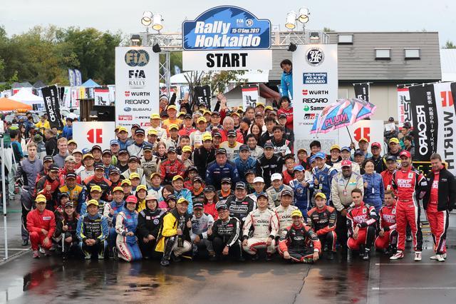 画像: アジアパシフィックラリー選手権が併催されるラリー北海道はやっぱり別格。ちなみに私は最終ゼッケン、選手権外のオープンクラスで参加。