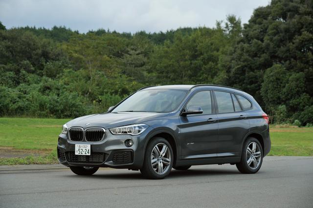 画像: BMW X1 xDrive 18d Mスポーツ。最高出力150ps/最大トルク330Nmのディーゼルエンジンを搭載する。