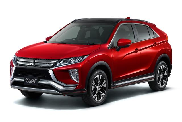 画像: すでに欧州向けの出荷が始まっているエクリプス クロス。日本では1.5ℓターボ車から発売されるようだ。