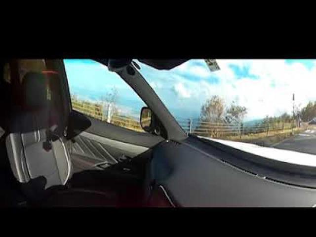 画像: 竹岡圭×アウトランダーPHEV 360°カメラ youtu.be
