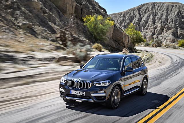 画像: 新型BMW X3はシルエットを大きく変えず、細部のデザインを上質にスポーティに