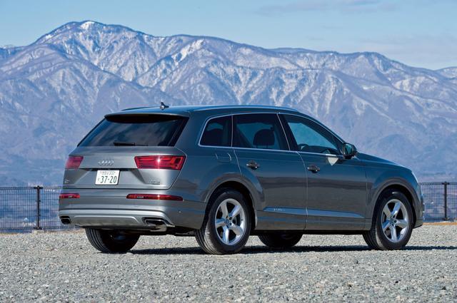 画像: 大型SUVモデルではあるが空力性能に優れ、Cd値は0.31を達成して燃費向上にひと役買っている。