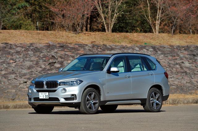 画像: BMW X5 40e iパフォーマンス Mスポーツ。堂々としたビッグサイズSUV。