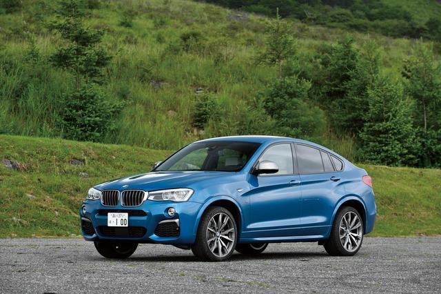 画像: BMW X4 M40i。最高出力360psのエンジンを搭載するMパフォーマンスオートモビルズ。