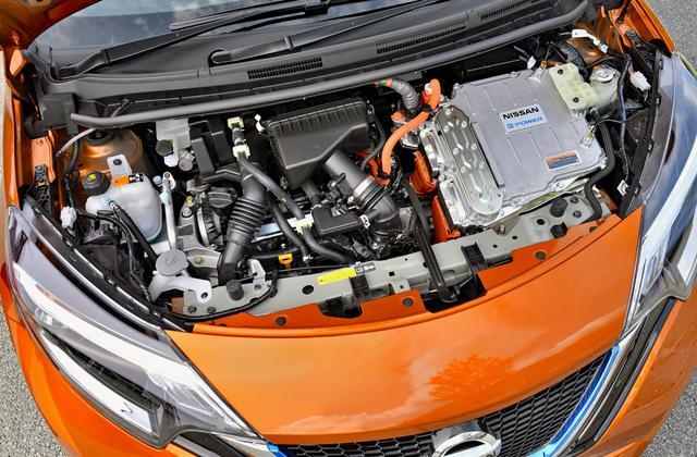 画像: エンジンは発電のみ、駆動はモーターのシリーズハイブリッド。ガソリンを入れるだけで充電の必要はない。