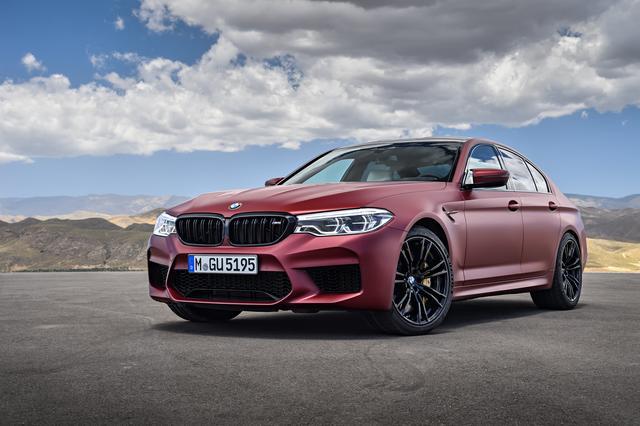 画像: BMW M5 ファースト・エディション。日本限定5台だ。