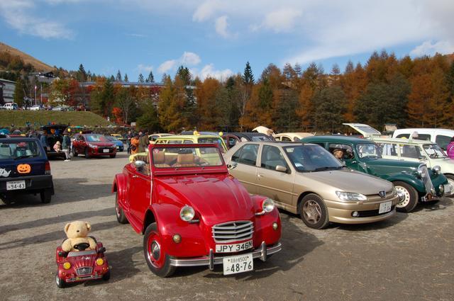 画像2: 車山高原にフランス車2000台が大集合