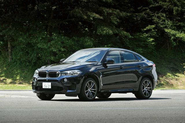 画像: BMW X6 M。ライバルはカイエンターボなどの怪物SUV。